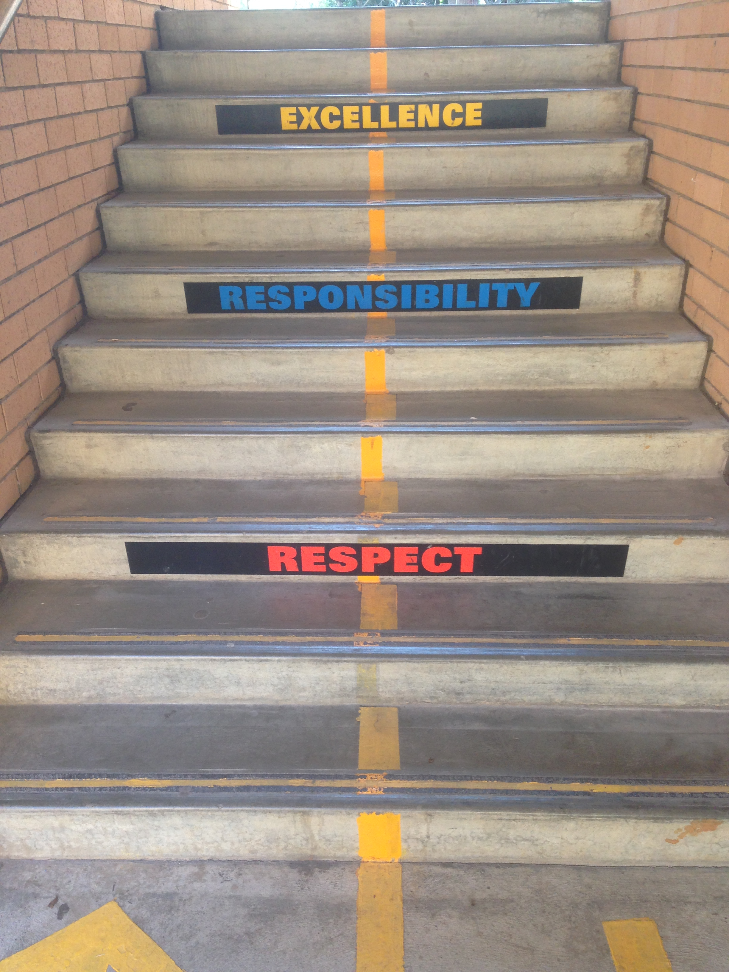 Respect, responsibility and excellence