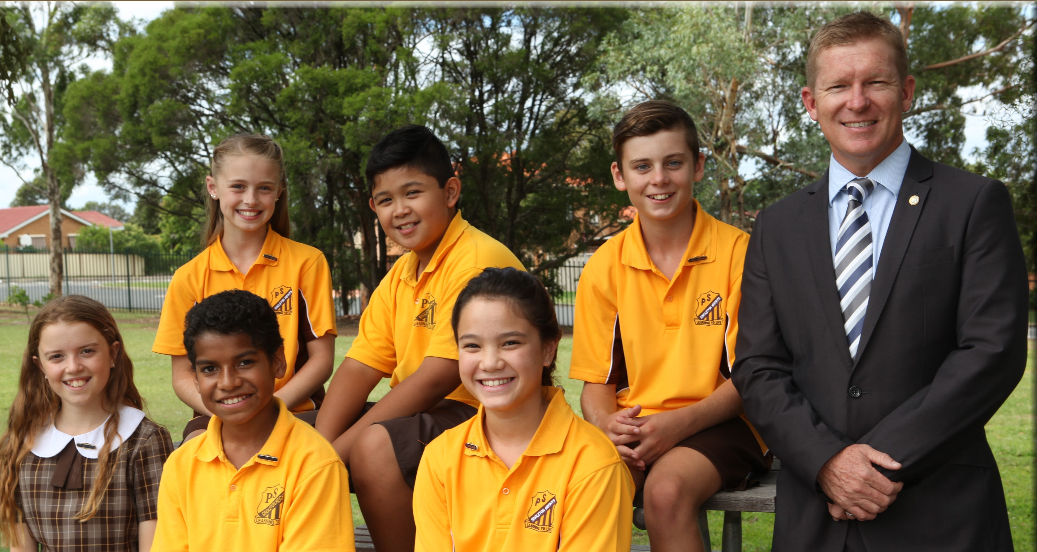Singleton Heights Public School - 2018l Captains
