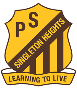Singleton Heights Public School logo