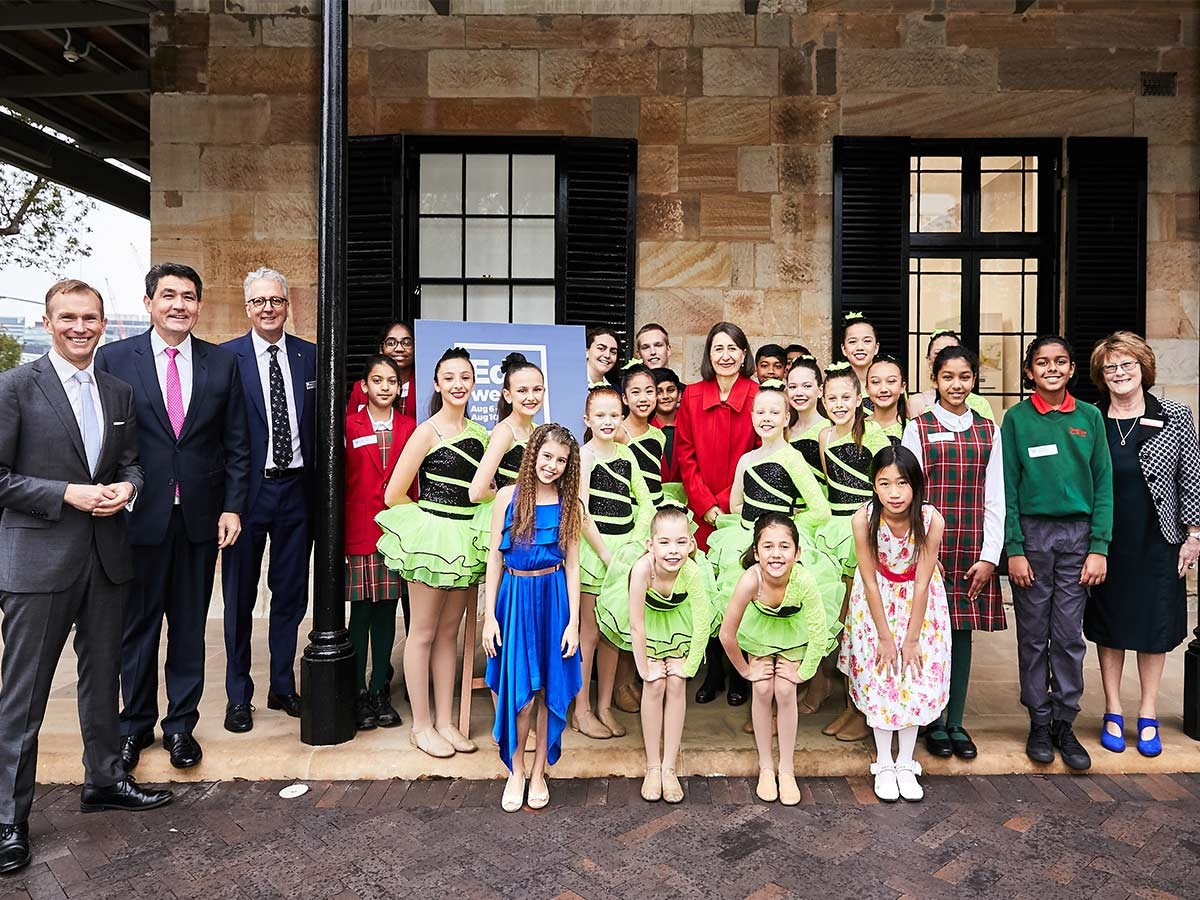 Kiama and Parramatta public schools hosted the launch of Education Week today.