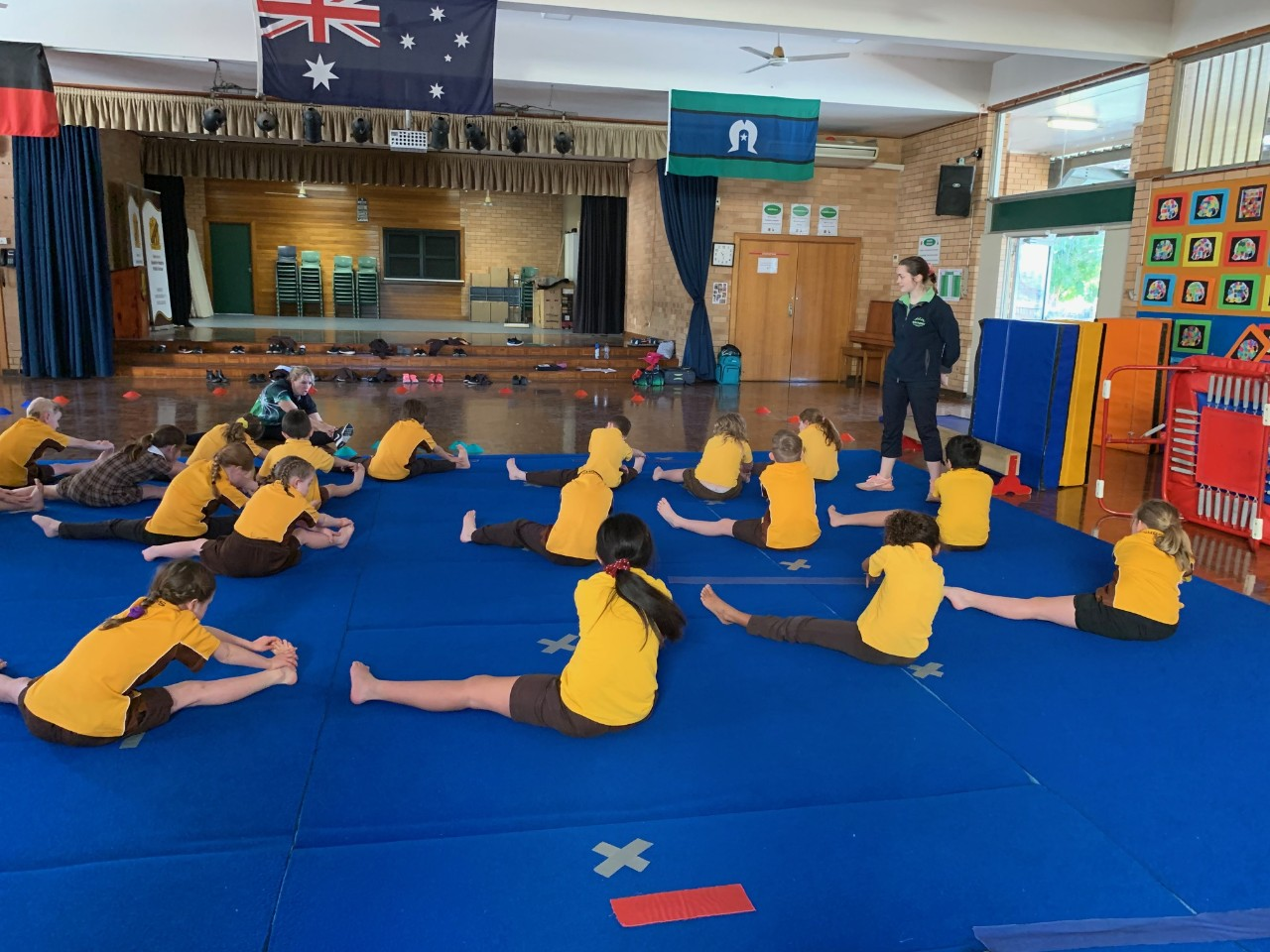 Gymnastics Program for Years 1 and 2